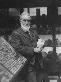 British Archaeologist and Egyptologist Sir Flinders Petrie Premium Photographic Print