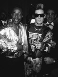 Mc Hammer and Vanilla Ice Attending the Grammy Awards Premium Photographic Print