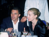Andre Balazs Seated with Caroline Bessette Kennedy Premium Photographic Print by Dave Allocca
