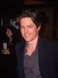 "Actor Hugh Grant at Film Premiere for ""Notting Hill"" Premium Photographic Print by Marion Curtis"