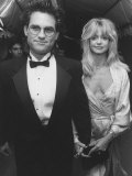 Actor Kurt Russell with Goldie Hawn Attending American Film Institute's 25th Anniversary Gala Premium Photographic Print