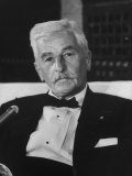 American Author William Faulkner Premium Photographic Print by Carl Mydans