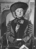 "Alec Guinness During a Scene from the Movie ""Kind Hearts and Coronets"" Premium Photographic Print"