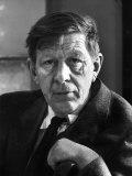 Poet Author W. H. Auden Premium Photographic Print by Alfred Eisenstaedt
