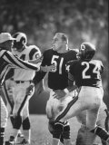 Linebacker for the Bears Dick Butkus Premium Photographic Print