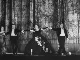 "American Singer Dorothy Kirsten Taking Bow after Performing in ""La Traviata"" Premium Photographic Print"