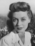 Actress Lilli Palmer Premium Photographic Print by Martha Holmes