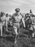 Gen. Douglas MacArthur Arriving with American Occupation Forces Premium Photographic Print by Carl Mydans