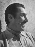 "Emilio ""Indio"" Fernandez Smiling Photographic Print by Loomis Dean"