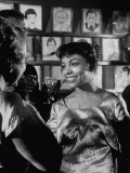 "Actress Ruby Dee, in a Scene from the Play ""A Raisin in the Sun"" Premium Photographic Print"