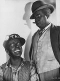 Actors Freeman Gosden and Charles Correll in Blackface as Radio Characters Amos 'N Andy Premium Photographic Print