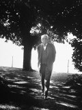 Composer Richard Strauss Out Walking Premium Photographic Print
