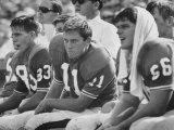 Univ. of Florida Quarterback Steve Spurrier, Top Professional Football Draft Pick Reproduction photographique Premium