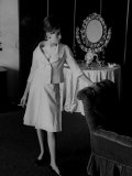 French Fashion Model Catherine Deneuve Premium Photographic Print by Loomis Dean