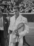 Australian Tennis Player Ken Mcgregor Premium Photographic Print
