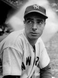 Baseball Player Joe Di Maggio in His New York Yankee Uniform Metal Print by Alfred Eisenstaedt