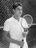 Tennis Player Pancho Gonzales Premium Photographic Print by Allan Grant