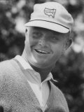 Golf Player Jack Nicklaus, Competing in the Master's Golf Tournament Premium Photographic Print