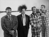 Comedian-Musician Spike Jones and His Band Posing for a Picture Premium Photographic Print by J. R. Eyerman