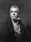 Portrait of Sir Walter Scott, Scottish Novelist and Poet Metal Print