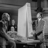 """Scene from the Movie """"The Fountainhead"""" Premium Photographic Print by Allan Grant"""