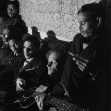 Folk Singer Woody Guthrie Premium Photographic Print