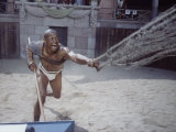 "Actor Woody Strode as Draba in Scene from the Stanley Kubrick Film ""Spartacus"" Premium Photographic Print by J. R. Eyerman"