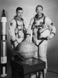Gemini 10 Astronauts John Young and Michael Collins Premium Photographic Print
