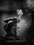 Life Photographer J.R. Eyerman, Covering Essay on Undersea Warfare Premium Photographic Print by J. R. Eyerman