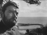 "Novelist John Fowles, Author of ""The French Lieutenant's Woman"" Premium Photographic Print"