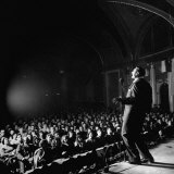 Singer Frankie Laine During a Concert Premium Photographic Print by Martha Holmes