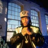 Actor Rapper Ice T Premium-Fotodruck von Ted Thai
