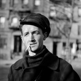 Folk Singer Woody Guthrie in Nyc Premium Photographic Print