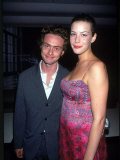 Musician Royston Langdon and Actress Liv Tyler, at Film Premiere of &quot;Beseiged&quot; Premium Photographic Print by Dave Allocca
