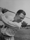Bobby Locke Playing Golf Premium Photographic Print by Martha Holmes