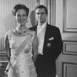Princess Margrethe II and Her Husband Prince Henrik Premium Photographic Print by Carlo Bavagnoli