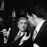 "Scene from ""The Confidential Clerk"", Starring Claude Rains Premium Photographic Print by Nina Leen"