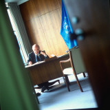 UN under Secretary General for Internal Oversight Services Karl Paschke Premium Photographic Print by Ted Thai