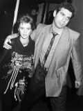 Singer Sheena Easton with Husband Rob Light Attending Prince Concert at the Forum in Inglewood, Ca Premium Photographic Print by Kevin Winter
