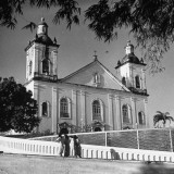 A View Showing a Famous Old Church, Nossa Senhora Da Conceicao Premium Photographic Print by Hart Preston