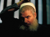 Muslim Cleric Sheik Omar Abdel Rahman, Alleged Mastermind of World Trade Center Bombing, in Jail Premium Photographic Print by Ted Thai