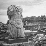 Roman Emperor Hadrian's Remnant Torso Found in Agora Market Place Premium Photographic Print by Dmitri Kessel