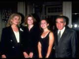 "Catherine Deneuve and Martin Scorsese with their Daughters at NY Premiere of Film ""Belle De Jour"" Premium Photographic Print by Dave Allocca"