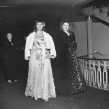 Debutante Virginia Leigh Attending the Metropolitan Opera Opening Night Premium Photographic Print by Martha Holmes