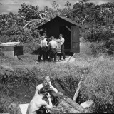 US Military Personnel Manning an Outpost Premium Photographic Print by Thomas D. Mcavoy