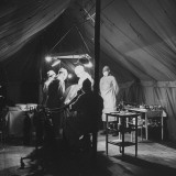 Surgeons Operating on Patient at Casualty Clearing Station Premium Photographic Print by William Vandivert