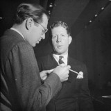 Rudy Vallee, Singer and Radio Show Host Premium Photographic Print by Horace Bristol