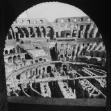 A View of the Interior of the Colosseum Premium Photographic Print by Thomas D. Mcavoy