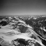 A Dramatic Shot Showing the Snow-Covered Peaks of the Amne Machin Group Premium Photographic Print by Jack Birns