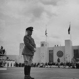 Major General William N. Haskell, During the Opening Ceremonies at the New York World's Fair Premium Photographic Print by David Scherman